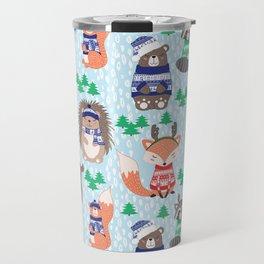 Christmas woodland Travel Mug