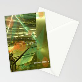 Photographer of steel stairs Stationery Cards