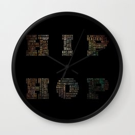 HIP HOP Wall Clock