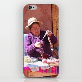 Pueblo de Machuca iPhone Skin