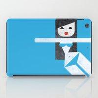 bikini iPad Cases featuring Bikini (03) by Marco Recuero
