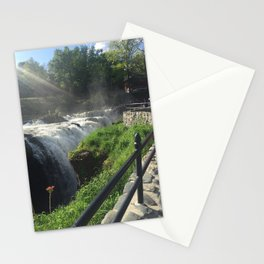 view at great falls Stationery Cards