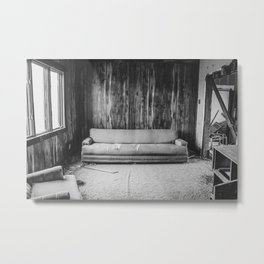 The Yellow House, Arena, North Dakota 12 Metal Print