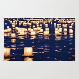 floating lanterns Rug