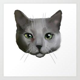 Cattitude Art Print