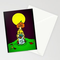 Tricky  |  Trick Or Treat  |  Halloween Stationery Cards