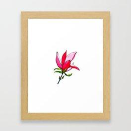 Magnolia the Anarchist Framed Art Print
