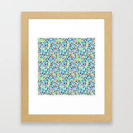 Rainbow Fish Framed Art Print