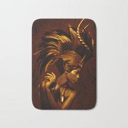 Afrofuturism fashion Bath Mat