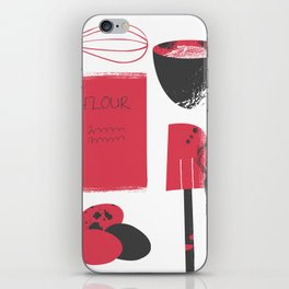 Inky Kitchen iPhone Skin