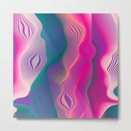 Colors bubbles Metal Print