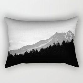 Beyond The Dry Ridge Rectangular Pillow