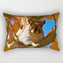 The Watcher in the Tree Rectangular Pillow