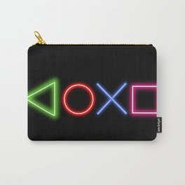 Neon Buttons Carry-All Pouch