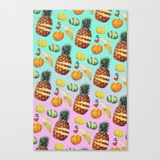 Fruit Ninja Canvas Print