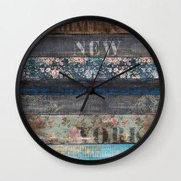 Souls of Manhattan Wall Clock