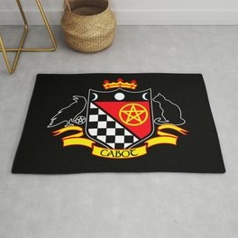 Cabot Crest Color/Black Rug