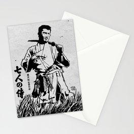 Seven Samurai Stationery Cards