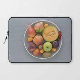 Fruits on a plate Laptop Sleeve