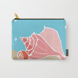 Conch Shells Carry-All Pouch