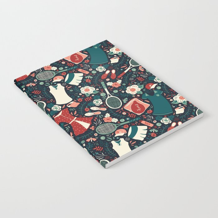 Tennis Style Notebook