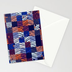 Square Wave Stationery Cards