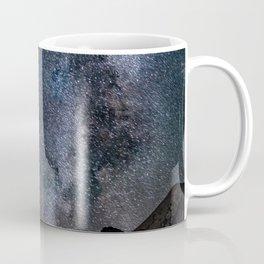 Perseid Over Sacagawea Peak Coffee Mug