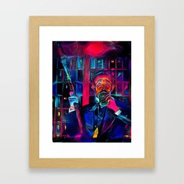 Altered Carbon - Poe Armed and Ready (Chris Conner) Framed Art Print