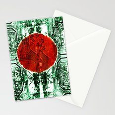 circuit board bangladesh (flag) Stationery Cards