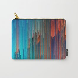 All About Us - Abstract Glitch Pixel Art Carry-All Pouch