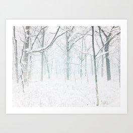 Blizzard Art Print