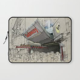 Times Square Sketch, Subway sketch, New York Laptop Sleeve
