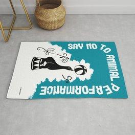 Say NO to Animal Performance – Seal Rug