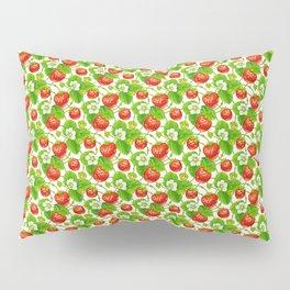Strawberry Pattern Pillow Sham