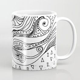 Hair in the Wind Coffee Mug