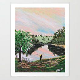 Foothill Pond Art Print