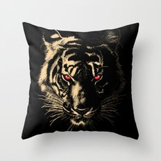 Story of the Tiger Throw Pillow