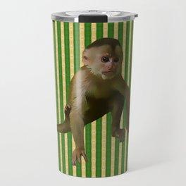 Capuchin Monkey Travel Mug