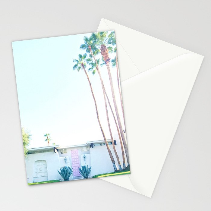 That Pink Door, Palm Springs Stationery Cards