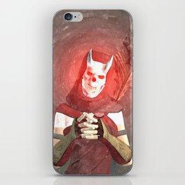 Red Foxxya iPhone Skin