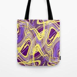 Yellow and Purple Dancing the Tango Tote Bag