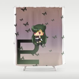 Sailor Pluto Shower Curtain