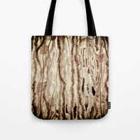 fringe Tote Bags featuring fringe by Rae Snyder