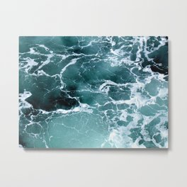 Marbled Waters Metal Print