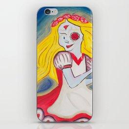 Demented Alice iPhone Skin