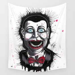 The Horror of Billy the Doll Wall Tapestry