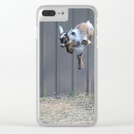 Jumping for Joy Clear iPhone Case