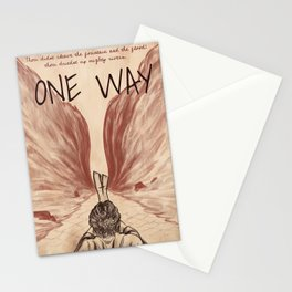 one-way, mose, Printable Wall Art Stationery Cards