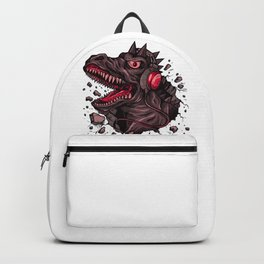 Dino with Headphones Finn Backpack