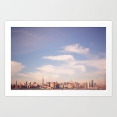 I am in Brooklyn... Art Print